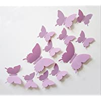 Cute Product 12Pcs 3d Butterfly Removable Wall Decals Diy...