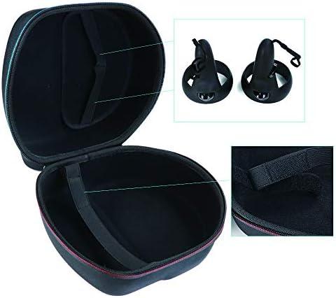 Esimen キャリングケース Oculus Quest VRゲーム用ヘッドセットとコントローラー用アクセサリー保護バッグ