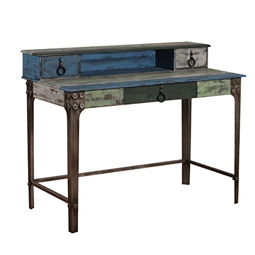 Powell Furniture 114-238 Calypso Desk - Antique Desk: Amazon.com