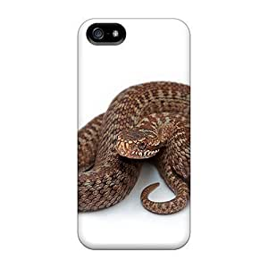 Awesome Cases Covers/iphone 5/5s Defender Cases Covers(animals Snake Wall)