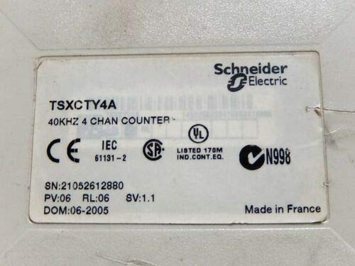 TSXCTY4A 4 Channels Counter MODULES 40KHZ TSXCTY4A 36MA 24VDC