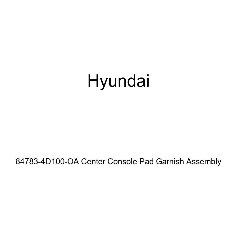 Genuine Hyundai 84783-4D100-OA Center Console Pad Garnish Assembly