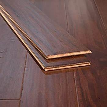 Ambient - Eucalyptus Flooring Sample, Color: Cafe Brown