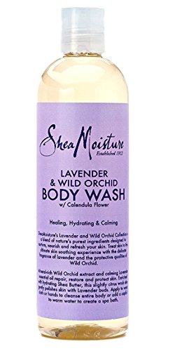 Shea Moisture Lavender & Wild Orchid Body Care Combo Set-I