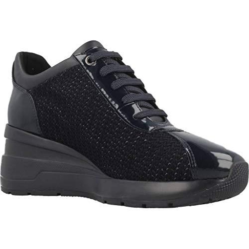 Zosma Para Geox Mujer navy C4002 Zapatillas Azul A D FxZqwZR56
