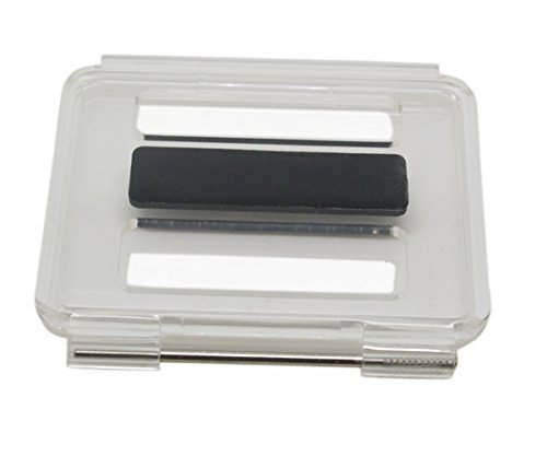 Williamcr Clear Backdoor Cover Replacement with Hole for GoPro HERO3+ Plus Skeleton Housing Case