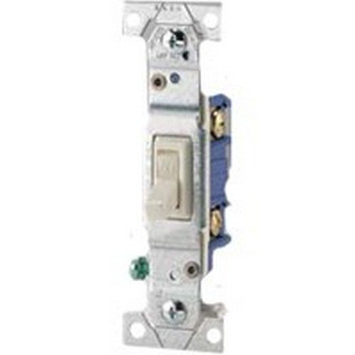 COOPER WIRING 1303-7W-BOX WHT GND TOGGLE (3wy Toggle)