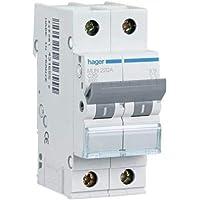 Hager MUN225A Interruptor Automático Magnetotérmico Serie MU, 2P