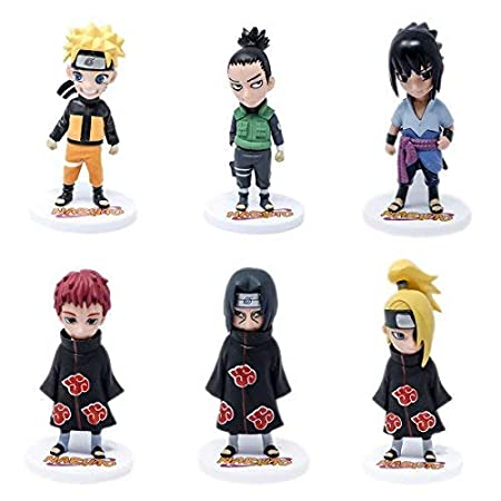 "Naruto action Figure 4.5/"" PVC"