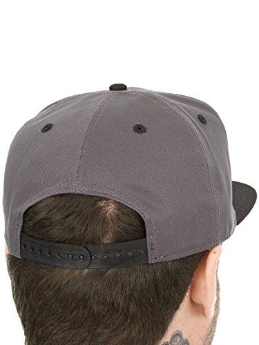 NEW ERA Snapback Casquette 9fifty–Word Clear–Dark Grey/Blac