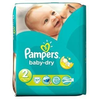 Pampers Baby Dry Size 2 (3-6kg) x 37 per pack by Proctor