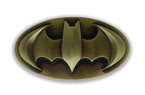Batman 3d Bronze Finished Belt -