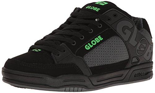 Globe Men's Tilt Skateboarding Shoe, Black/Camo/Moto Green, 12 M US - Skate Globe