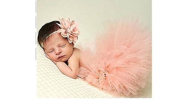 Beitsy - Juego de atrezzo de fotografía con falda para bebé recién ...