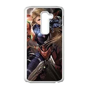 LG G2 Cell Phone Case White_Super Smash Bros Samus Aran_008 FY1382542