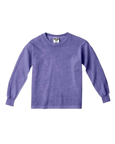 Comfort Colors By Chouinard Youth Long Sleeve Tee (Violet)