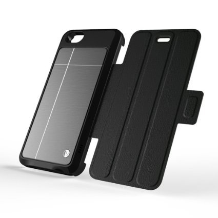 Iphone solar battery case