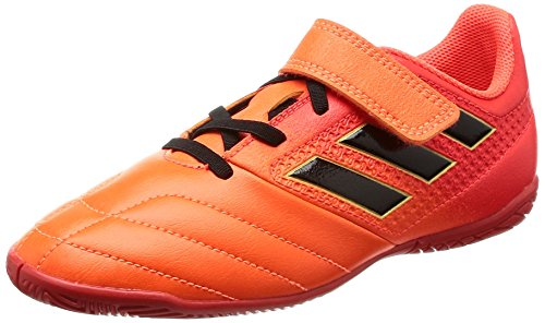 adidas Ace 17.4 In J H&l, Zapatillas de Fútbol Sala Unisex Niños Varios colores (Narsol/Negbas/Rojsol)