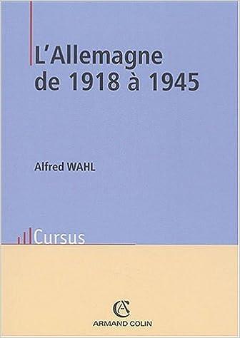 Lire un L'Allemagne de 1918 à 1945 epub, pdf