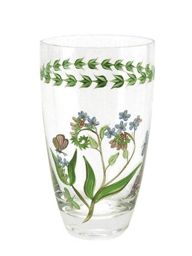 Portmeirion Botanic Garden Hand-Painted Highball Glasses, Set of 4 (Highball Hand Glass Painted)