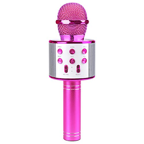 This Is Halloween Song 1 Hour (SUNNYPIG Gift for 4-12 Year Old Girl Kids, Wireless Bluetooth Microphone Toys for 6-12 Year Old Kid Girl Singing Microphone Birthday Gift for Girl Child Toy Age 5-11 Girl Karaoke)