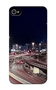 A3393ac1752 Cover Case - Cityscapes Lights Buildings Skyscrapers Auckland Protective Case Compatibel With Iphone 5/5s