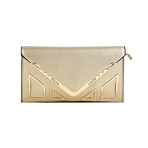 Sookiay Womens Envelope Clutch Wallet by Sookiay