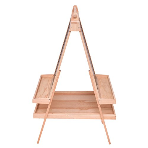 All in One Kid's Double Side Wooden Art Easel w/Paper Roll All One Wooden Art Easel Double Side W Paper Roll Kid S Accessories Tray New CHOOSEandBUY