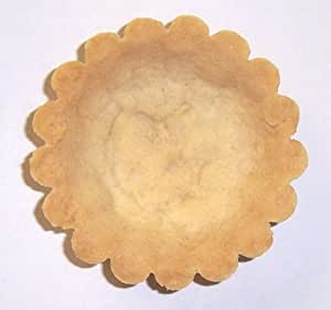 Scott's Cakes 3 Inch Round Fluted Pastry Tart Shells - 12 Pack