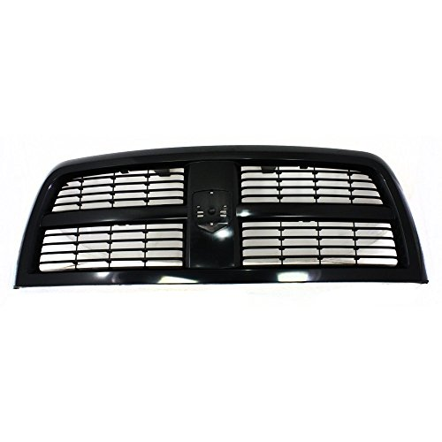 Grille for Dodge Ram 2500 P/U 10-12 Vertical Bar Insert Paint To Match New Body ()