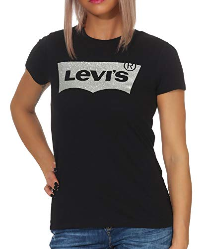 Tee Tee T Femme Noir Perfect 0483 Levi's Black holiday shirt The 1PcgWFR