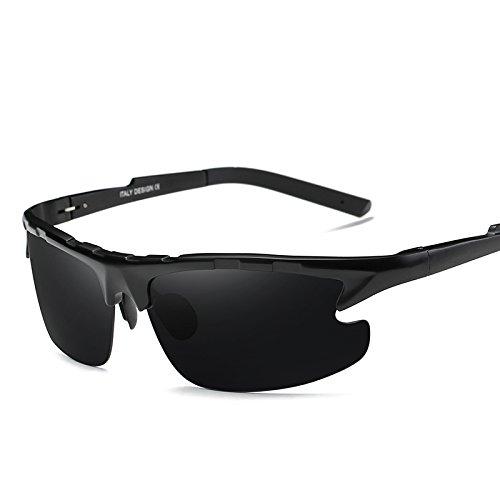 Sol De LLZTYJ Gafas Hombres De Espejo Regalo Día Visión Nocturna Glass Para Día Gafas Anti Conducción Conducción De De Sol Y Sol De gray Polarizadas and Noche B Decoración Gafas black Bl A De De De Gafas San Valentín tEIqIr