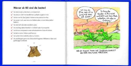 Männer Ab 60 Sind Die Besten Cartoon Geschenkbuch Zum Runden