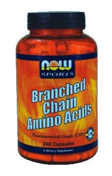 NOW Foods Acides aminés à chaîne Direction générale, 240 Capsules