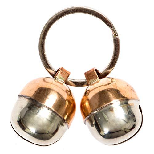 2 Extra Loud Cat & Dog Bells Save Birds & Wildlife | Luxury Handmade Copper | Beau's Bells -