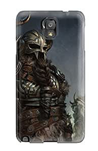 Fashionable Style Case Cover Skin For Galaxy Note 3- Viking Warriors Video Game