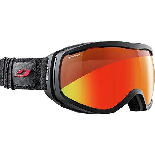 Elara Otg avec écran Snow Tiger - Masque ski Noir