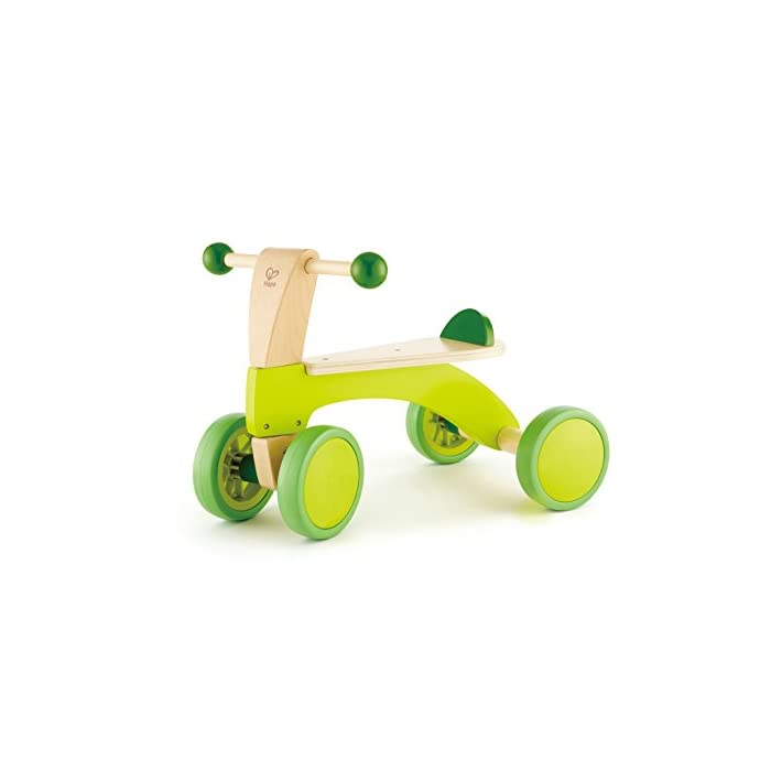 Hape Bici Bicicleta sin Pedales pequeña, Infantil, Verde