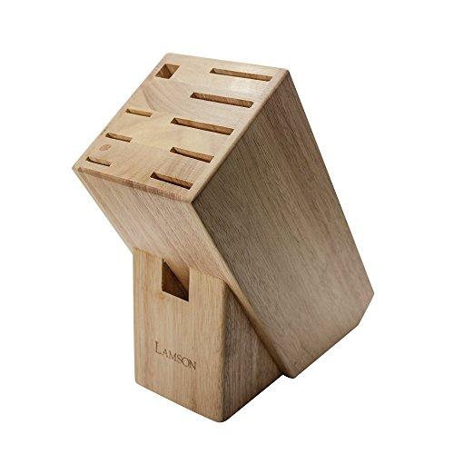 - Lamson TreeSpirit Maple Knife Block - 9-Slot