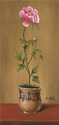 Oil Painting 'Chinese Rose', 12 x 25 inch / 30 x 64 cm , on High Definition HD canvas prints is for Gifts And Gym, Kids Room And Laundry Room - Polarized Coupons World