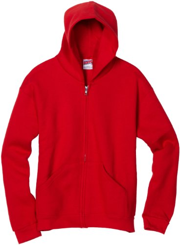 MJ Soffe Boys 8-20 Zip Hooded Sweatshirt