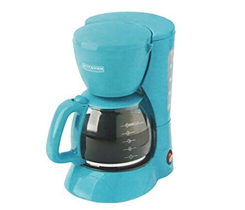 Kitchen Selectives Colors 5 Cup Coffee Maker - Tea/Turquoise