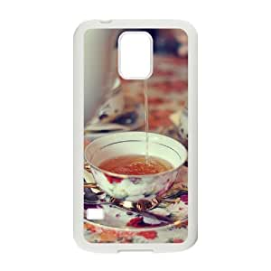 Afternoon Tea Customized Cover Case with Hard Shell Protection for SamSung Galaxy S5 I9600 Case lxa#411629