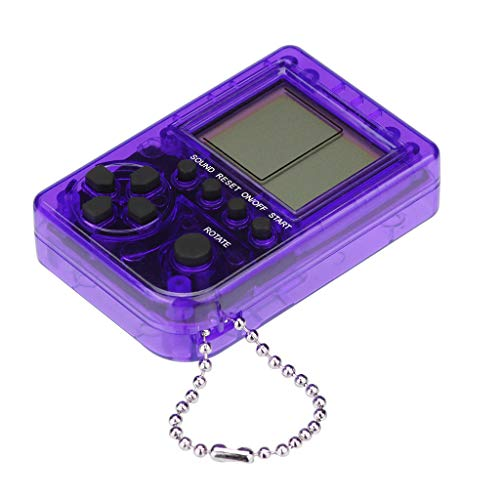 Gbell  Handheld Retro Video Game Console,Mini Tetris Game Console Students Pendant Recreational Machines Hand-Held Game Player Classic Gaming Device Toy for Kids Adult
