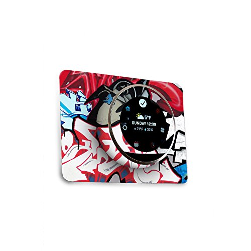 MightySkins Skin for Nest Thermostat - Graffiti Mash Up | Protective, Durable, and Unique Vinyl Decal wrap Cover | Easy to Apply, Remove, and Change Styles | Made in The USA