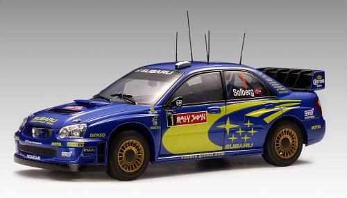 AUTOart 1/18 SUBARU NEW AGE IMPREZA WRC 2004' P.SOLBERG/P.MILLS #1 ( WINNER OF RALLY JAPAN ) 完成品 B000BVX1KE