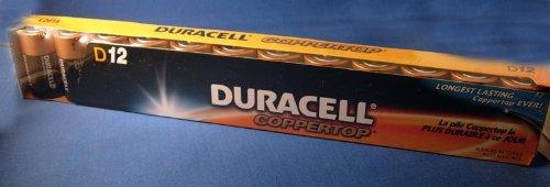 Duracell D size Alkaline Battery (14 per pk) (14 per pack)