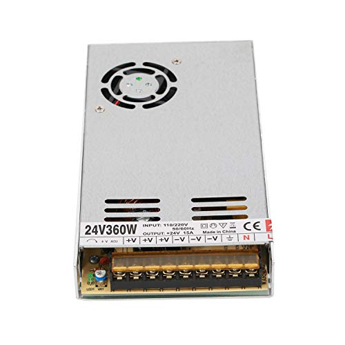 24V 360W/240W/480W Switching Power Supply Adapter LED Strip Lighting DC Transformers 24V for 3D Printer DIY - Usb 480w