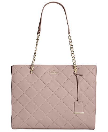 Kate Spade New York Emerson Place Phoebe Leather Tote, Beige