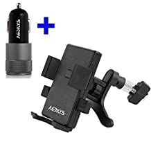 Car Mount,Car charger AEDILYS® Universal Smartphone Car Air Vent Mount Holder Cradle for Iphone 6 5s, 5c, 5, 4s, 4, Ipod Touch, Samsung Galaxy S5, S4, S3, Note 2, Note 3, Nexus S, Motorola,Amazon Fire phone